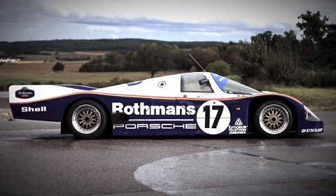 Chris Harris Drives the Porsche 962C
