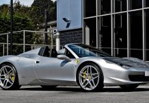 Ferrari 458 Spider by A Kahn Design