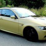Matte Gold BMW M3 E92 by SR-Exclusive