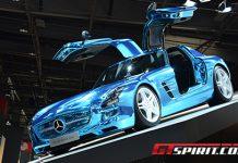 Paris 2012 Mercedes-Benz SLS Electric Drive