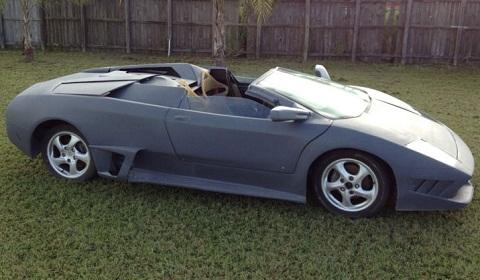 Porsche-Based Lamborghini Murcielago LP640 Roadster Replica