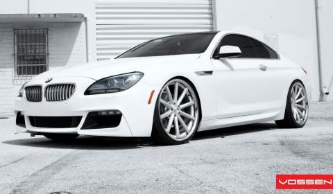 2012 BMW 6-Series on 22 Inch Vossen Wheels