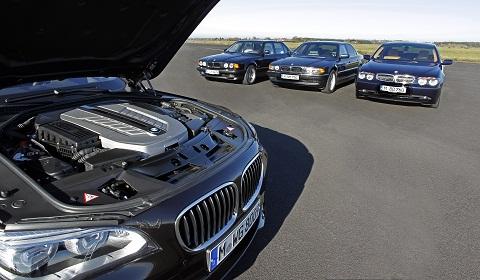 25 Years of BMW 12-Cylinder Engines