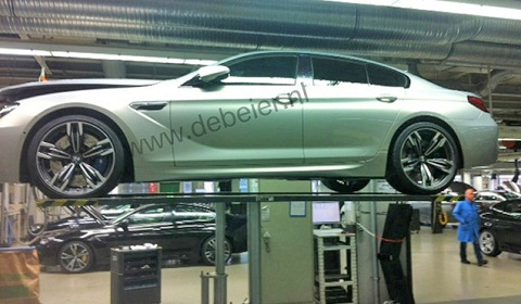 BMW M6 Gran Coupe at the Factory