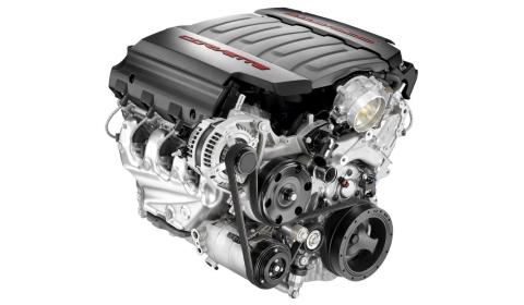 Chevrolet Reveals New 6.2 Liter V8 Engine for Corvette C7