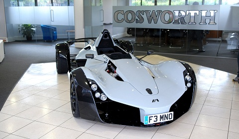 cosworth offered for sale gtspirit