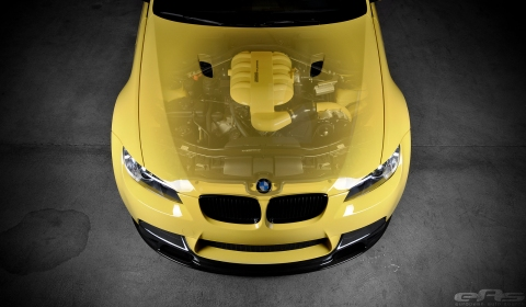 Dakar Yellow BMW E90 M3 Supercharged by EAS
