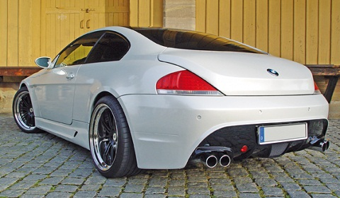 official e63 bmw 6 series gets clp bodykit gtspirit. Black Bedroom Furniture Sets. Home Design Ideas