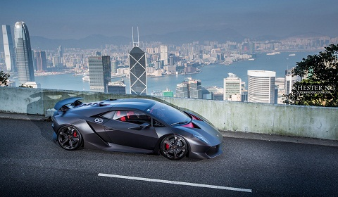 photo of the day lamborghini sesto elemento in hong kong by chester ng gtspirit. Black Bedroom Furniture Sets. Home Design Ideas