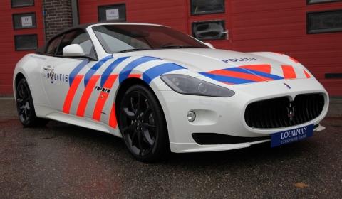 Maserati GranCabrio Polizia Edition