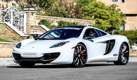 Mclaren MP4-12C on Forgiato Wheels