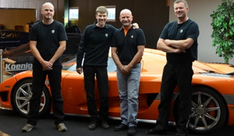 New Certified Koenigsegg Technician for US Market