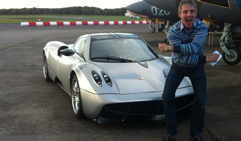 Pagani Huayra Gets New Front Splitter