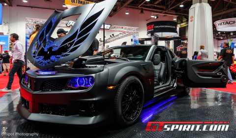 SEMA 2012 650hp Blackbird Trans Am Supercharged