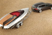 Speedboat Concept for Jaguar XF Sportbrake