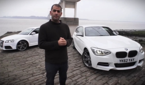 Video Chris Harris Compares BMW M135i vs Audi RS3