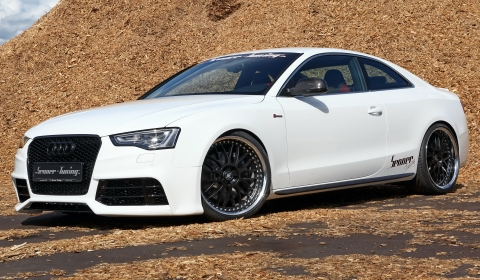 Official 2012 Audi S5 Coupe With Rs5 Styling By Senner