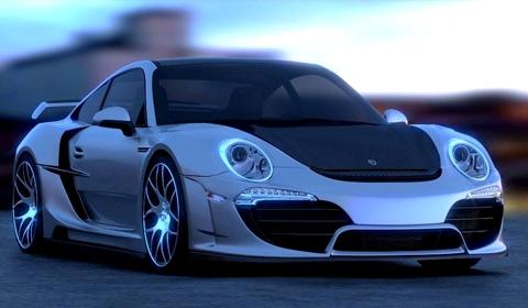 Anibal Automotive Design Porsche Attack