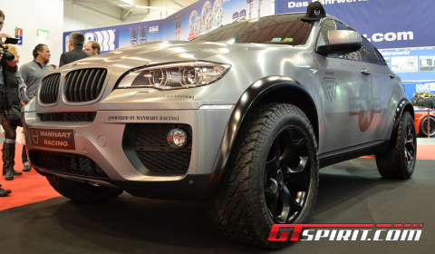 Essen 2012 Manhart Racing Mhx6 Dirt Edition Gtspirit