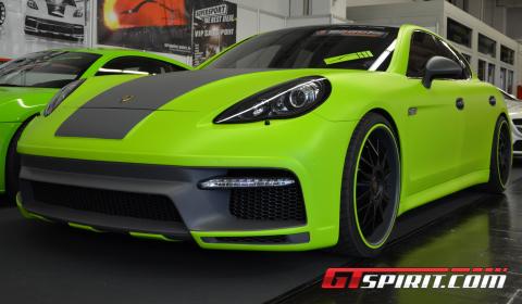 Essen 2012 Porsche Panamera by Regula Exclusive