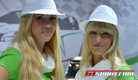 Essen Motor Show 2012 Girls Part 2