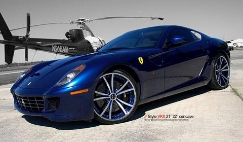 Ferrari 599 GTB with VKX Vellano Wheels - GTspirit