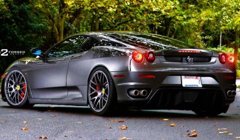 Ferrari F430 On D2forged Mb1 Wheels Gtspirit