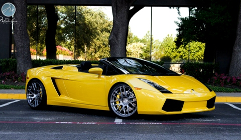 lamborghini gallardo spyder with b 14 modulare forged wheels gtspirit. Black Bedroom Furniture Sets. Home Design Ideas