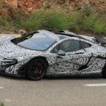 McLaren P1 Spotted Testing in France