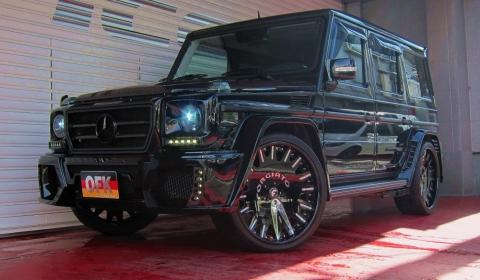 Mercedes benz g 55 amg wald black bison by office k gtspirit for Best wax for black mercedes benz