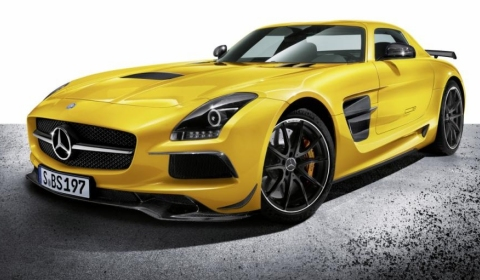 Official 2013 Mercedes-Benz SLS AMG Black Series
