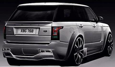 Onxy Concept 2013 Range Rover Rear