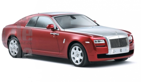 Rendering Rolls-Royce Corniche Coupe