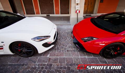 Road Test Lamborghini Gallardo Super Trofeo Stradale vs Maserati GranTurismo MC Stradale