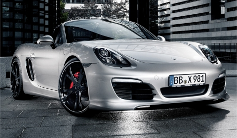 TechArt Aerodynamic Kit for Porsche 981 Boxster S