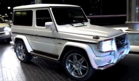 Video Fake Mercedes-Benz G 63 AMG Two-Door in Dubai