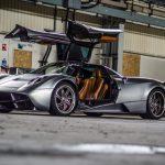 Pagani Huayra Top Gear photoshoot