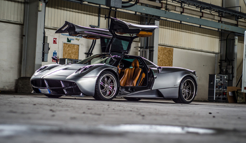 Gallery: Pagani Huayra Top Gear Photoshoot - GTspirit