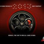 Alfa Romeo Releases First Teaser of 2013 4C Sports Car