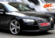 Audi RS7 spotted in a metropolitan area undisguised