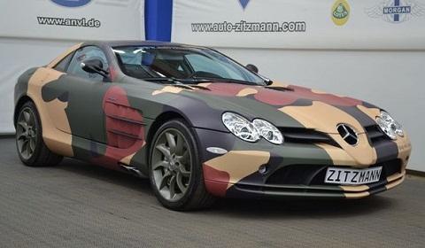 Camouflage Mercedes-Benz SLR McLaren