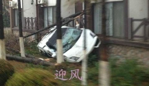 Car Crash Lamborghini Gallardo Wrecked in Test Drive