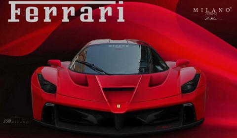 Render Ferrari F150 By Evren Milano Gtspirit
