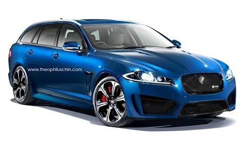 Jaguar XFR-S Sportbrake by Theophilus Chin