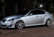 Lexus IS 250 with 20 inch VVS-CV& Vossen Wheels