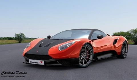 McLaren MC-1 Design Study by David Cardoso