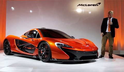 McLaren P1 Previewed in NYC; Styling Changes Leaked
