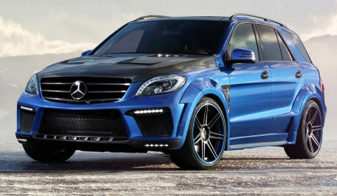 Mercedes Benz ML 63 AMG By TopCar