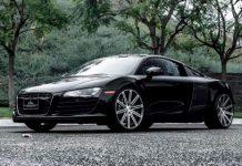 Metallic Black Audi R8 by Calabasas Luxury Motorcars