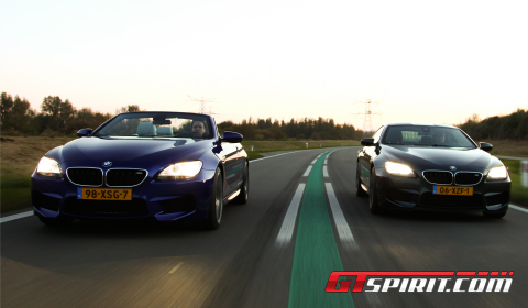 Road Test 2012 BMW M6 Coupe vs M6 Convertible 04